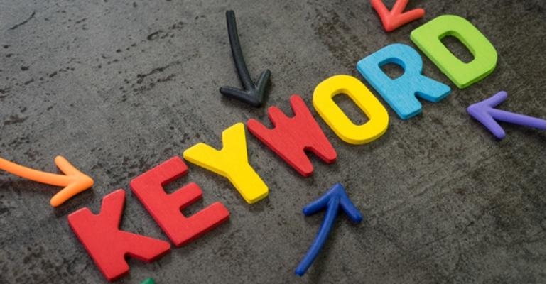 Behalten Sie Ihre Keywords im Hinterkopf